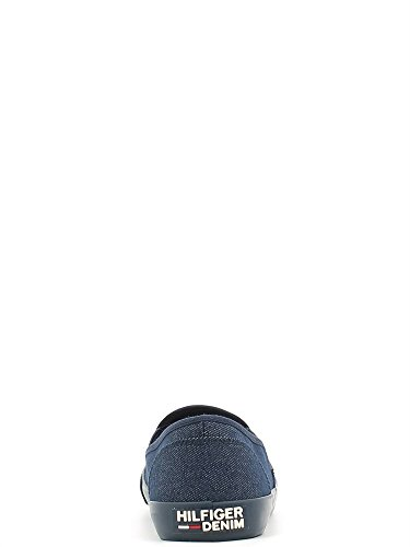 Tommy Hilfiger , Baskets mode pour femme bleu midnight 40 EU