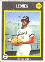 1973 Made in Venezuela Stickers (Baseball) Card# 149 Elias ...