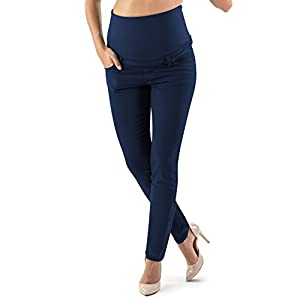 Dove acquistare MAMAJEANS Venezia – Pantaloni Premaman Slim Colorati, Pantaloni Gravidanza in Cotone – Made in Italy