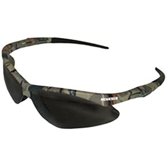 kimberly clark jackson safety v30 nemesis smoke anti fog lens safety eyewear with camo frame