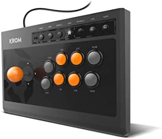 Krom KUMITE - NXKROMKMT - Joystick Arcade, Negro: Krom: Amazon.es ...
