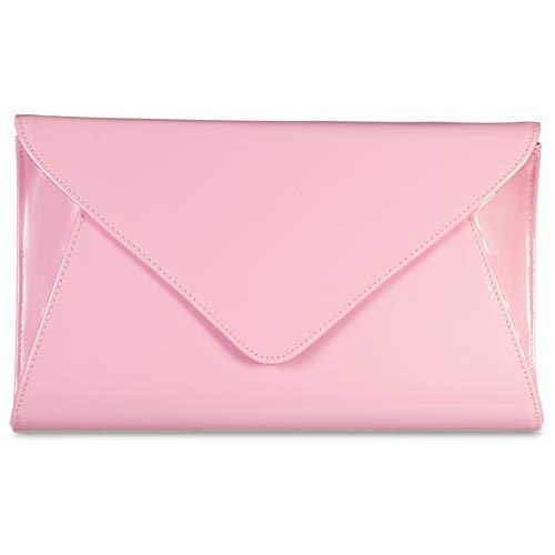Women Wedding Bag Patent Bags Body Envelope Bridal Smart Cross Party Purse Rose Leather Handbag Clutch 151q0r7xZw