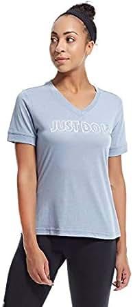 Nike Sportswear T-Shirt for Women - Grey L