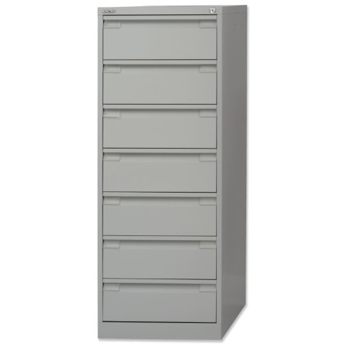 Bisley Filing Cabinet 7-Drawer 203x127mm Card Index or Video ...