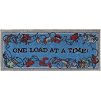 Laundry Rug - One Load At A Time - Decorative Laundry Mat by Bacova - 21 x 45