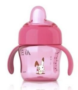 Magic Spout Avent Toddler - Philips Avent Magic Spout Cup 200ml 6 Months Plus Scf750/17 BPA Free Girls Pink Great Gift for Baby Ship Worldwide