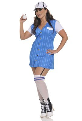 Seven (Plus Size Womens Baseball Costume)