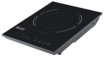 eurodib p3d countertop induction range with digital temperature controls cooktop. Black Bedroom Furniture Sets. Home Design Ideas