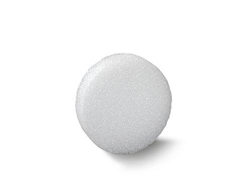 FloraCraft Styrofoam Disc 1.9 Inch x 5.8 Inch White