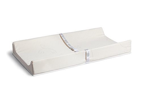 BeautySleep Natural Contoured Changing Pad by Simmons Kids