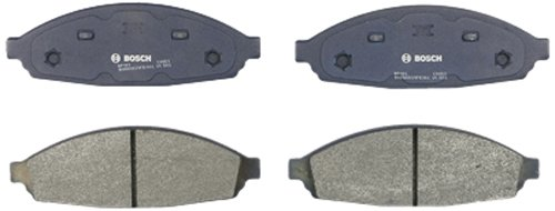 Bosch BP931 QuietCast Premium Semi-Metallic Disc Brake Pad Set For Ford: 2003-2011 Crown Victoria; Lincoln: 2003-2011 Town Car; Mercury: 2003-2011 Grand Marquis, 2003-2004 Marauder; Front