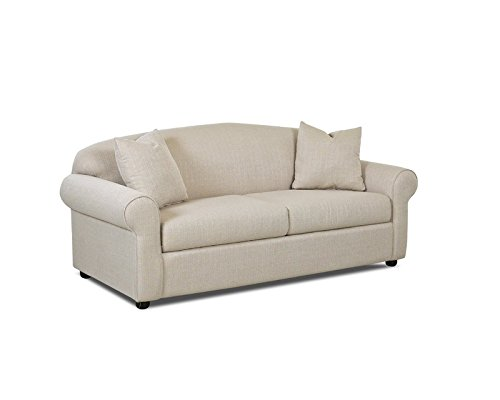 Klaussner Possibilities Sofa, Hilo Flax Fabric