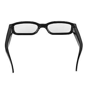 Excelvan Detachable Lenses HD 720P 5MP Mini Camera Digital Video Recorder DV Glasses Eyeglasses Eyewear Camcorder Audio Maximum support 32GB Memeory Card