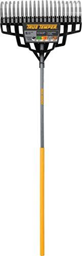 The AMES Companies,Inc True Temper 20-inch Multi-Purpose Steel Lawn Rake - (Steel Tine Lawn Rake)