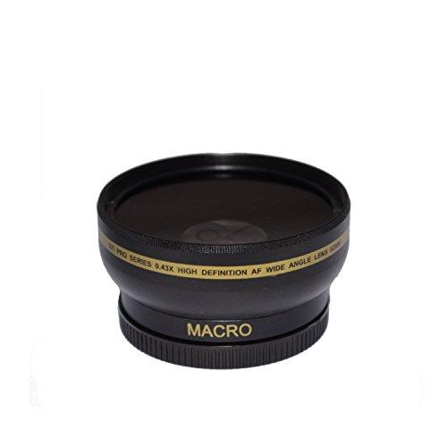 58mm High Definition Wide Angle Macro Lens for Nikon AF-S Nikkor 50mm f/1.8G - Ultra Wide Angle Converter, 58 mm Wide Angle Lens, 58mm Lens (Converter Wide)