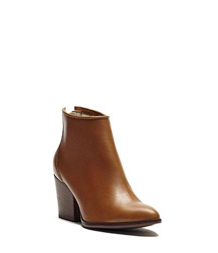 PoiLei Stella - Damen Schuhe / Sommer-Stiefelette - Ankle Boot mit Trichterabsatz braun