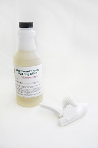 Death-On-Contact Bed Bug Killer Spray | Exterminator-Grade Non-Toxic Eco-Friendly Formula Kills Bed Bugs On Contact
