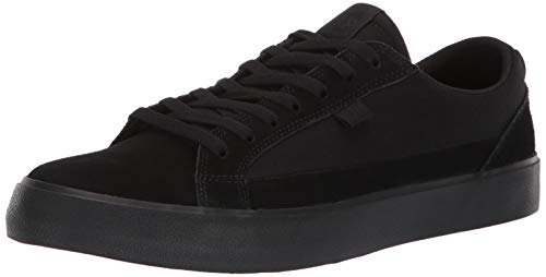 DC Men's LYNNFIELD Skate Shoe Black, 10 M US