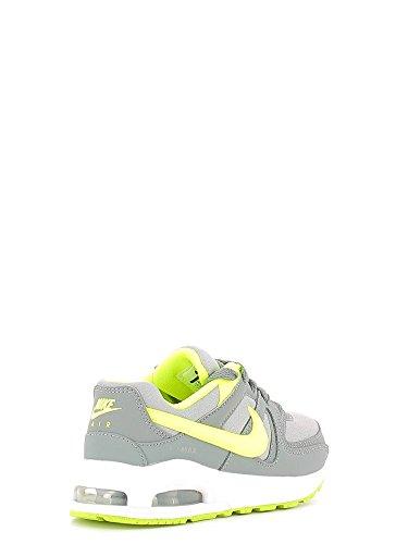 Nike Air Max Command Flex (Ps), Zapatillas de Running para Niños Gris (Cool Grey / Volt-Wolf Grey)