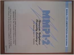 mmpi-2 manual for administration and scoring