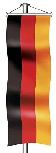 Deutschlandfahne - Bannerfahne, 120x300cm
