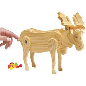 Mr Moose Wooden Candy Dispenser Funny Toy Poops Candy Amazonco