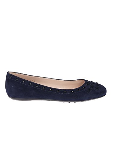 Blue Flats Tod's Women's XXW71A0Y311HR0U824 Suede qPw7OF