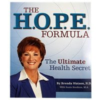 Renew Life - Book - The H.O.P.E. Formula Book by Brenda Watson, N.D. - Softcover 136 pages