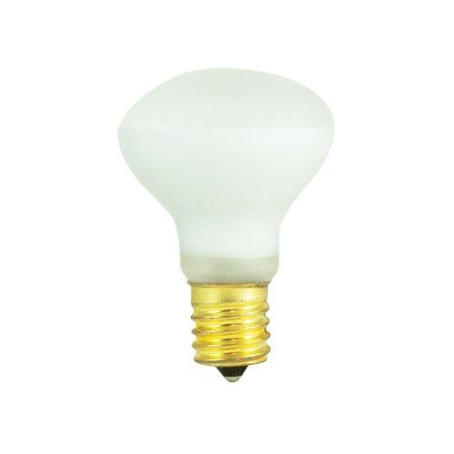 Tuff Lite Flashlight - Bulbrite 40R14N 40-Watt Incandescent R14 Mini Reflector, Intermediate Base, Clear [12 Pack]