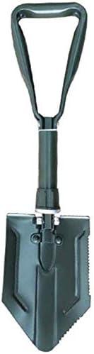 折りたたみシャベルのndash;高炭素鋼EntrenchingポータブルエンジニアリングシャベルEntrenchingすぎます lzpff (Color : Green)
