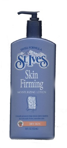 St. Ives Skin Firming Moisturizing Lotion For Dry Skin 18 FL