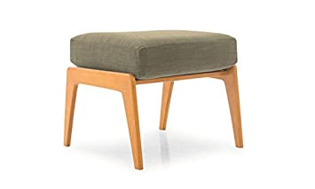 Pleasing Amazon Com Soto Mid Century Modern Ottoman Key Largo Gmtry Best Dining Table And Chair Ideas Images Gmtryco