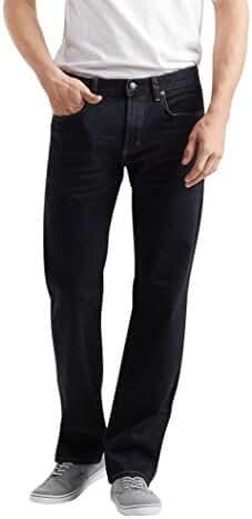 Aeropostale Men's Straight Dark Wash Reflex Jean