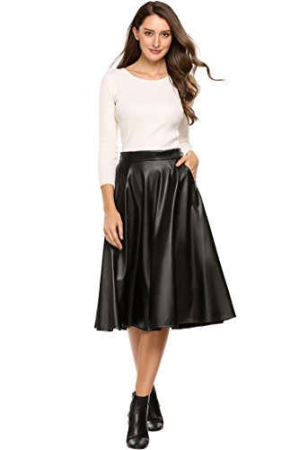 Womens A-Line Leather - 2