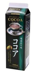 MORIYAMA(守山乳業) 喫茶店の味ココア 1000ml 1ケース(6本 )