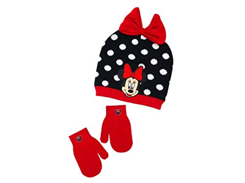 Minnie Mouse Beanie and Mittens Set for 2T-5T from Berkshire Fashions