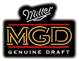 Miller Genuine Draft Neon Sign 19 x 24.5