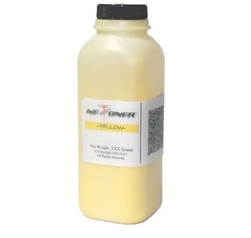 NE IMAGE© - 1 Yellow Laser Toner Refill Kit for Brother TN-310, TN-315 (TN-310Y, TN-315Y) + Hopper Cap