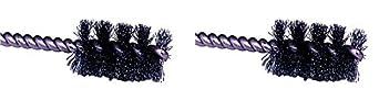 1-1//4 Diameter 0.008 Wire Diameter 1//4 Shank Weiler Corporation 21080 Steel Weiler Round Power Tube Brush Single Stem 0.008 Wire Diameter Pack of 1 2000 rpm 1//4 Shank 1-1//4 Diameter Round Shank