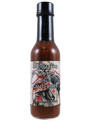 Heartbreaking Dawns Cauterizer Trinidad Scorpion Hot Sauce