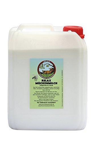 RELAX Mückenmilch für Pferde (5l Kanister)