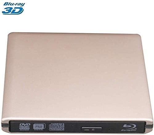 KJRJFD USB 3.0研磨された金属クロムブルーレイDVDRWドライブ、光学ドライブBD-REドライブバーナーは、Mac / Windowsの10 /ラップトップ/ PC用の3D作品をサポート (Color : 3)
