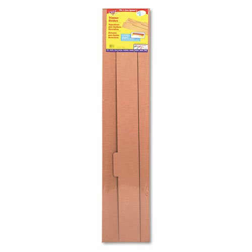File 'n Save System Trimmer Storage Box Dividers, 39 x 4-1/4, 3/Pack, Sold as 3 Each