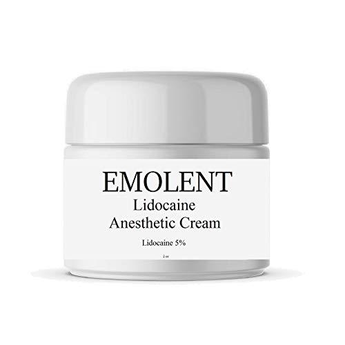 EMOLENT, 5% Lidocaine Pain Relief Cream, 2 fl.oz