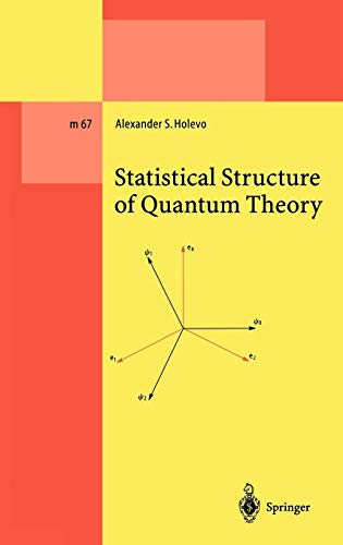 Statistical Structure of Quantum Theory (Lecture Notes in Physics Monographs)