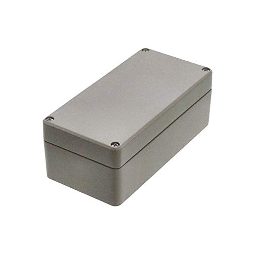 R100-084-000 Hammond Enclosure Aluminum Grey Box