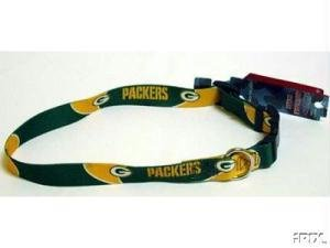 Medium Green Bay Packers Dog Collar