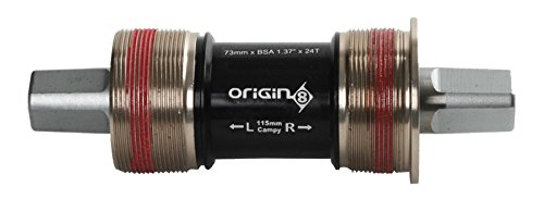 Origin8 Torqlite Square Taper Bottom Bracket, 73 x 122.5, Interface: English / Spindle Type: - Square 73
