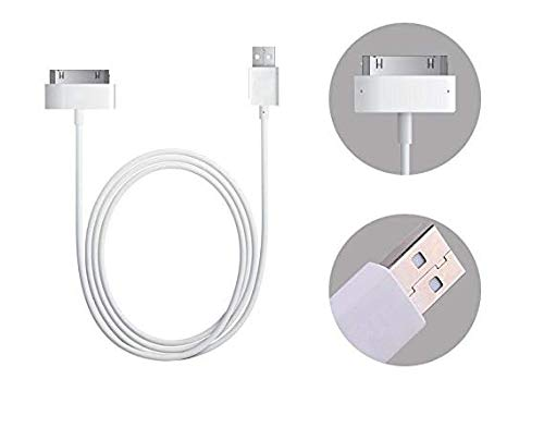 - MFi Certified 30Pin Sync Charging Cable for iPhone 4 4S iPod 4G 4th Gen (1 Pack)
