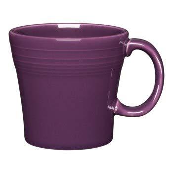 - Fiesta 15-Ounce Tapered Ceramic Mug - Mulberry Purple